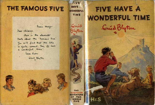 famous five essay Famous five summary topics: enid blyton, kirrin island, ewan mcgregor pages: 3 (1385 words) the efforts of five women known as the famous five has had a lasting effect on the rights of.
